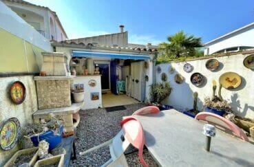 maison à vendre empuriabrava, 3 pièces 66 m², terrasse couverte avec cuisine d'été