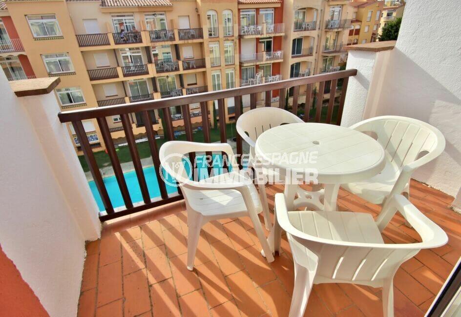 empuriabrava immo: appartement 3 pièces 57 m² avec terrasse vue piscine