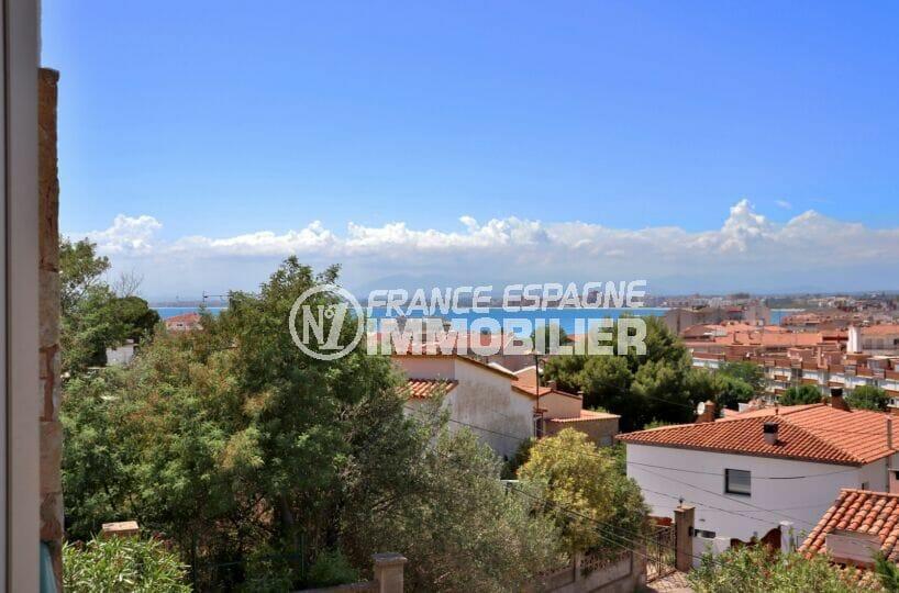 maison a vendre a rosas, ref.4169, 4 pièces 166 m², terrasse et véranda vue mer, plage et commerces 500 m