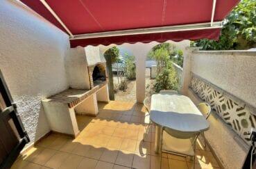 vente maison empuriabrava, 3 pièces 76 m², terrasse avec parbecue en pierre