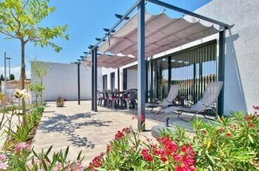 achat maison espasgne en costa brava, villa 4 pièces 131 m² avec terrasse fleurie