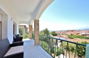 achat maison costa brava, 4 pièces 166 m² avec belle terrasse vue mer