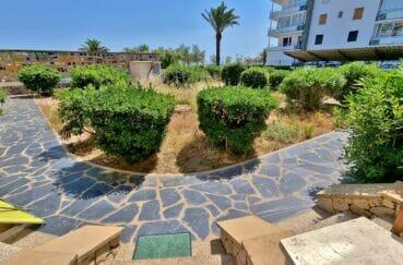 achat appartement rosas, 2 pièces 46 m², résidence arborée, plage à 50 m