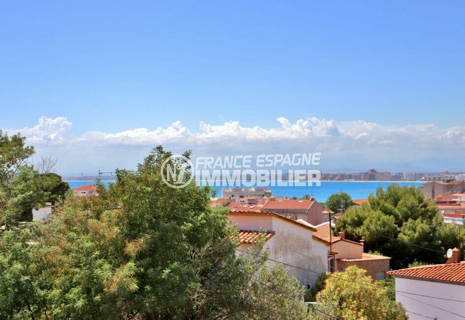 achat maison espagne costa brava, 4 pièces 166 m², terrasse et véranda avec vue mer