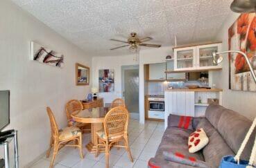acheter appartement costa brava, 2 pièces 46 m², cuisine ouverte sur le séjour