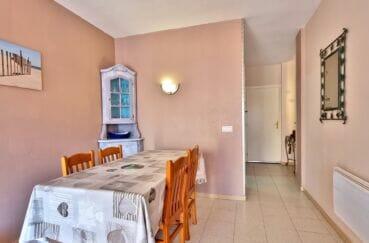 acheter appartement costa brava, 3 pièces 60 m², salon/séjour avec son coin repas