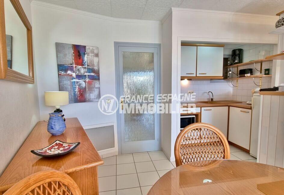 appartement a vendre a rosas, 2 pièces 46 m², jolie petite cuisine aménagée