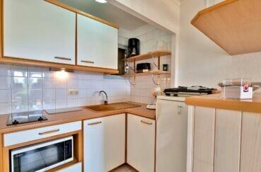 appartement à vendre à rosas espagne, 2 pièces 46 m², cuisine équipée de plaques, nombreux rangements