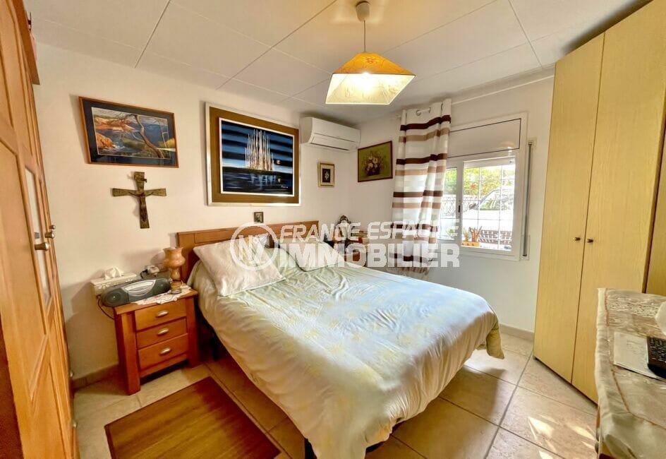 maison a vendre espagne, 3 pièces 66 m², chambre à coucher avec climatisation