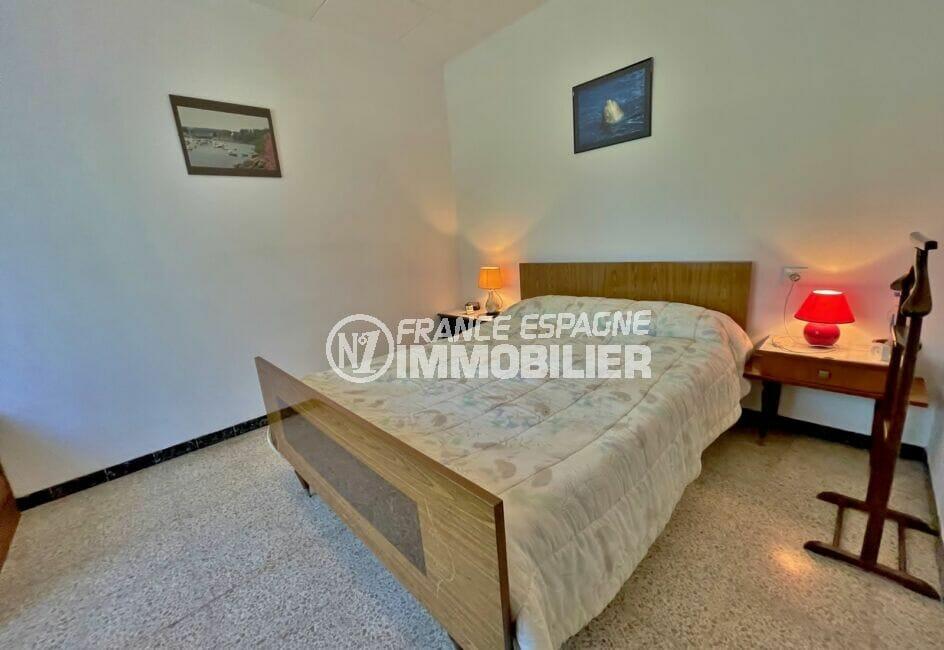 vente empuriabrava: villa  3 pièces 76 m², 1° chambre à coucher, lit double