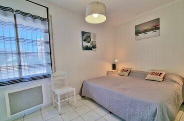 achat appartement costa brava, 2 pièces 46 m², chambre à coucher, lit double