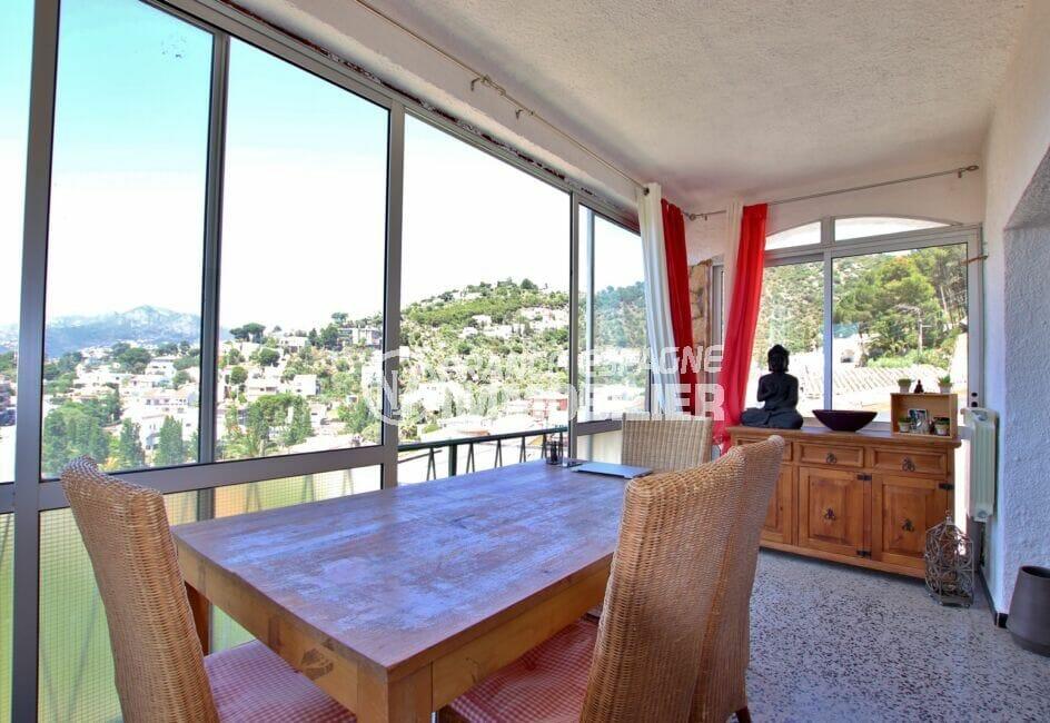 vente maison rosas espagne, 4 pièces 166 m², agréable vue sur la mer et les montagnes