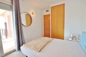 appartements a vendre a rosas, 3 pièces 64 m², 1° chambre à coucher avec accès terrasse