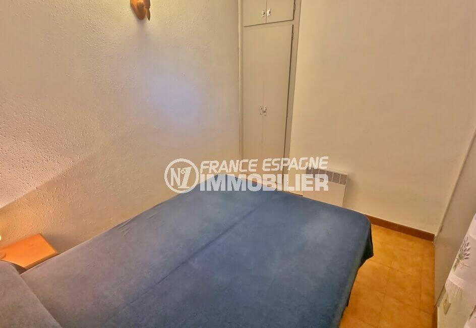 achat appartement costa brava, 2 pièces 43 m², chambre avec armoire encastrée