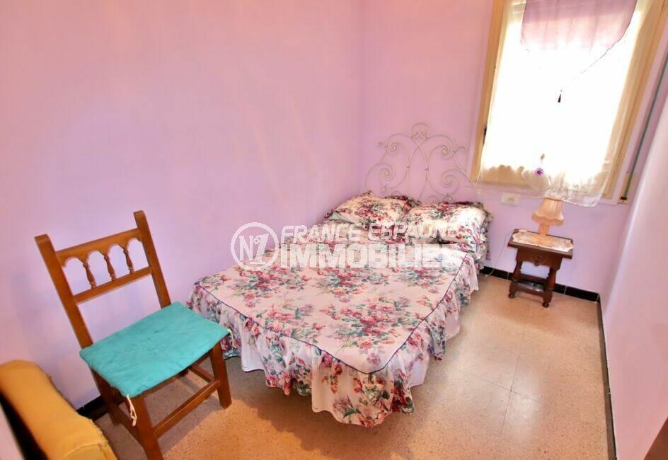 achat appartement costa brava, 3 pièces 62 m², 2° chambre à coucher, lit double