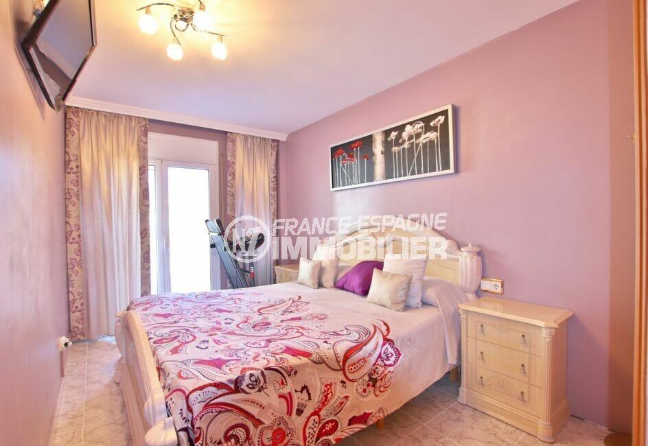 appartement à vendre roses espagne,  4 pièces 96 m², 1° chambre à coucher, terrasse