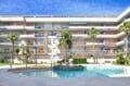 appartement a vendre roses, 3 pièces 58 m², belle résidence avec piscine communautaire