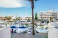 immocenter roses: appartement 3 pièces 58 m², accès de la résidence au bord du canal