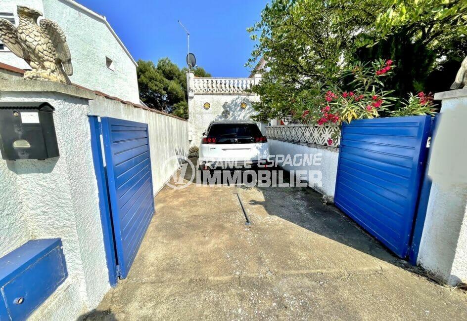 vente immobilière costa brava: villa 3 pièces 66 m², parking cour intérieure