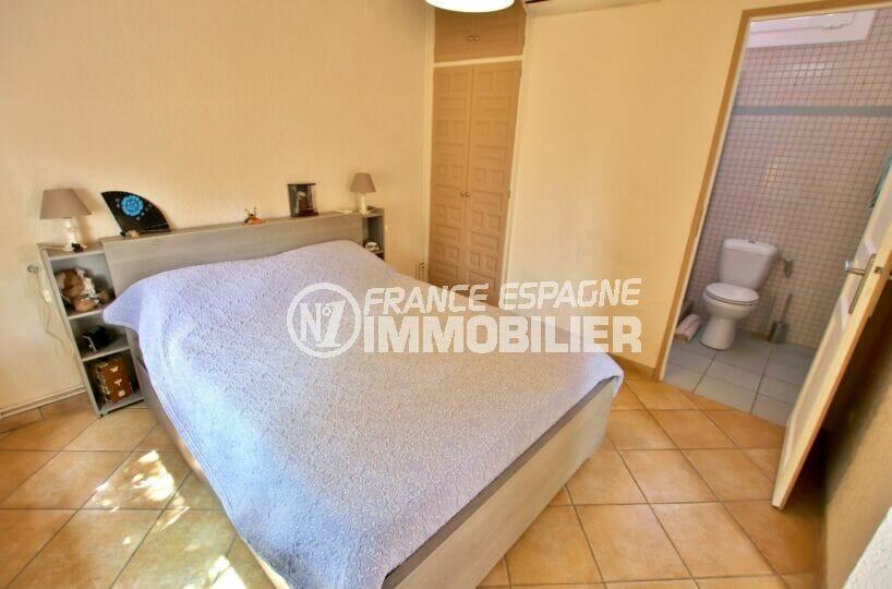 vente immobilier costa brava: villa  4 pièces 145 m², 1° chambre avec salle d'eau et wc