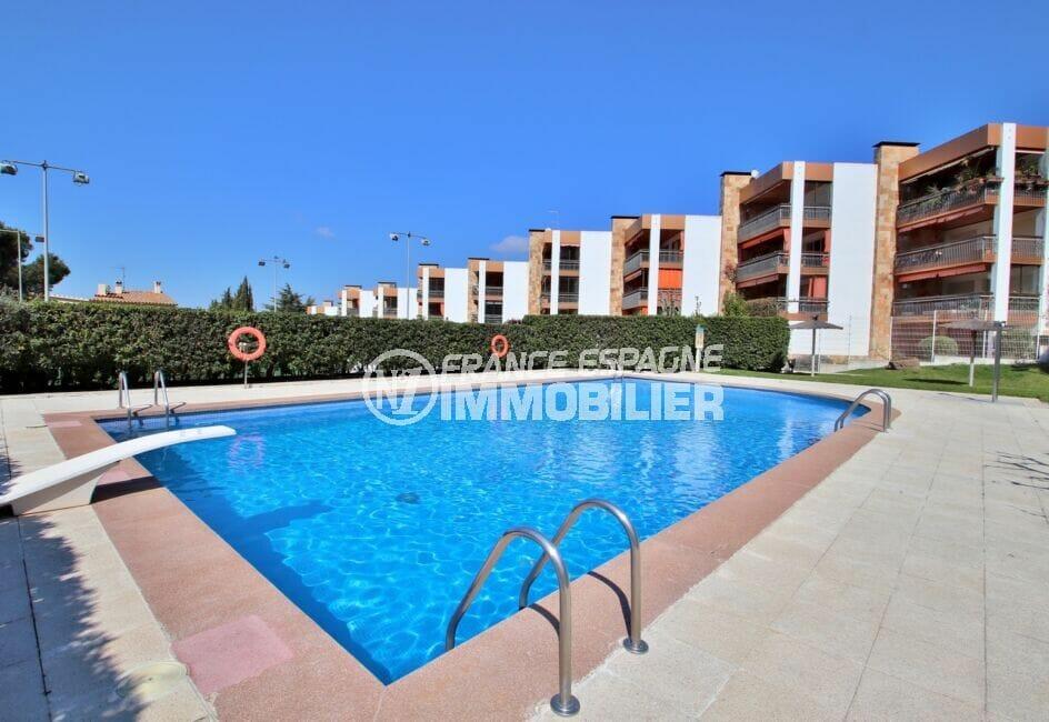 appartement rosas vente, 5 pièces 95 m², résidence avec piscine communautaire