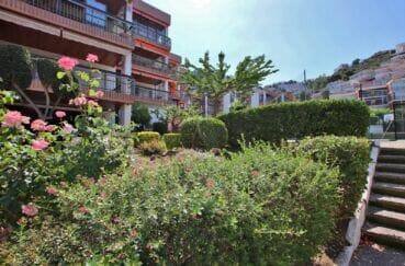 immo center rosas: appartement 5 pièces 95 m², belle résidence avec jardin en commun