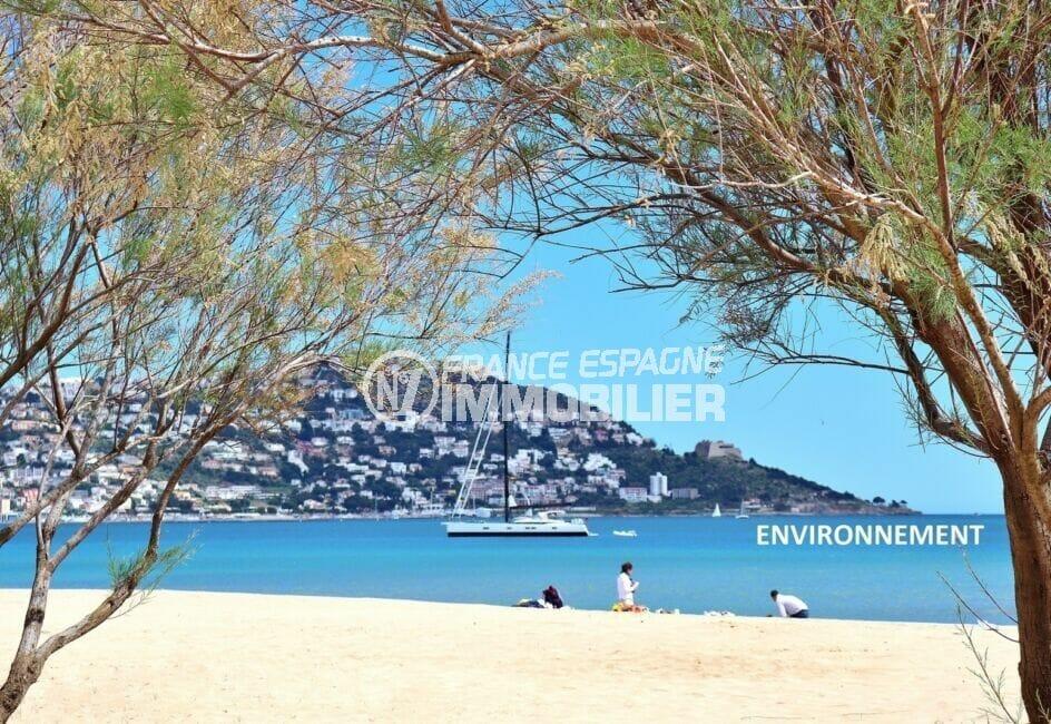 la plage ensoleillée de roses avec son sable fin et ses eaux chaudes et transparentes