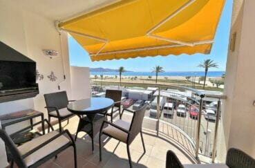 agence empuriabrava: appartement 4 pièces 128 m² terrasse 1ere ligne mer