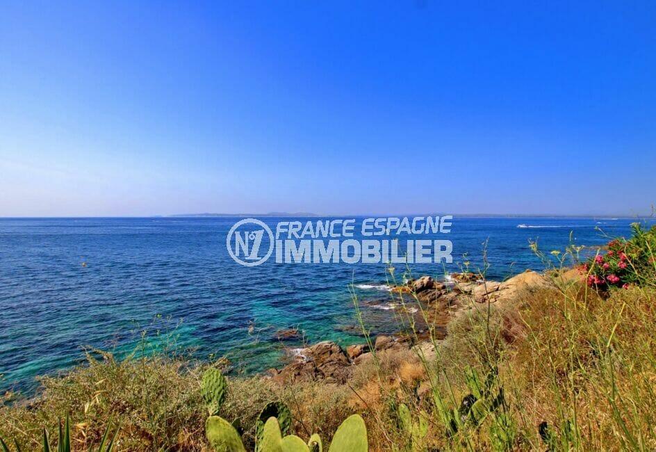 vente appartement rosas, 2 pièces 39 m² sur le chemin de ronde, à 800 m de la plage et des commerces