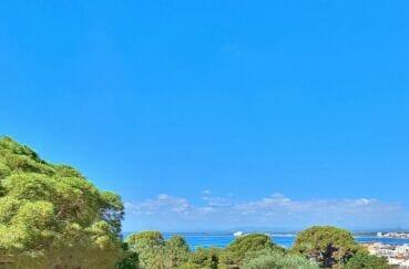 villa individuelle vue mer, secteur prisé, plage 700 m, ref4187