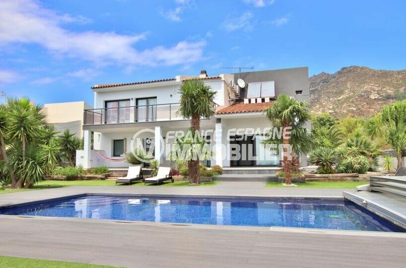 maison a vendre palau saverdera avec piscine et garage dans secteur résidentiel de 215 m², terrain 800 m². proche plage
