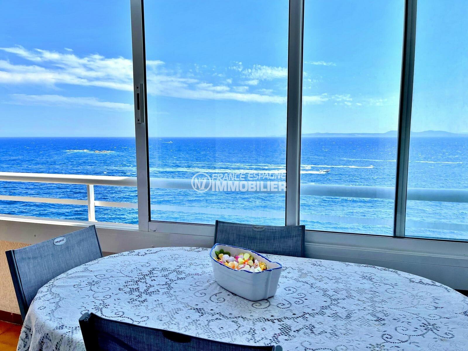 appartement a vendre rosas, 3 pièces 60 m² atico superbe vue mer
