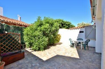 achat maison rosas espagne, 55 m² plage à 200m, belle terrasse avec barbecue