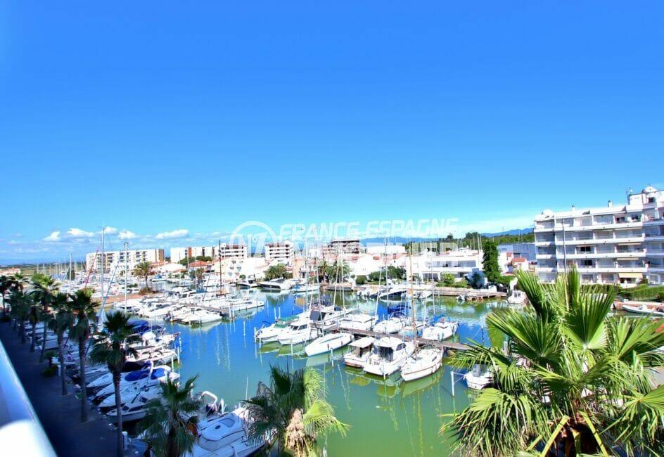 agence immobiliere santa margarita: vente appartement 2 pièces 47 m² avec magnifique vue sur la marina