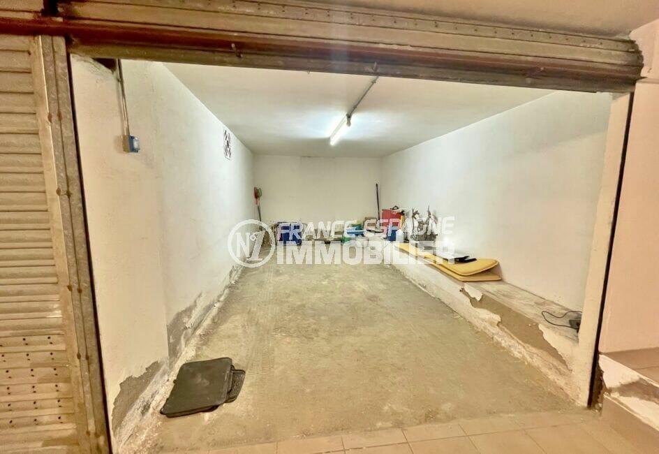 vente immobiliere costa brava: parking-garage 20 m² fermé, en sous sol