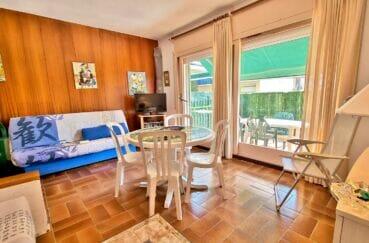 santa margarita: studio 44 m², séjour avec belle terrasse, exposition sud-ouest