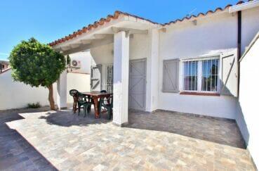 santa margarita: villa 55 m² à 200m de la plage, terrasse sur terrain de 125 m²