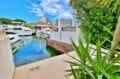 achat maison costa brava, 89 m² avec terrasse barbecue et amarre 10m x 3m