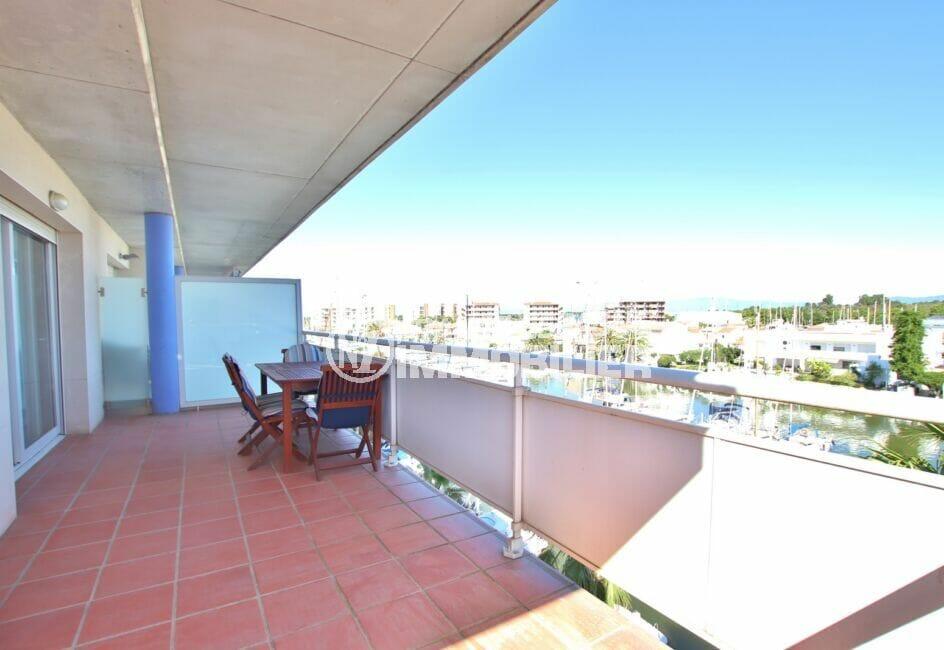 appartement a vendre a santa margarita, 2 pièces 47 m² avec grande terrasse vue marina