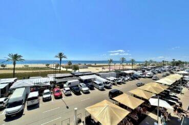 vente appartement empuriabrava, 4 pièces 128 m² vue mer, plage et commerces à 50 m