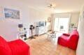 immobilier espagne costa brava vue mer: appartement 2 pièces 55 m², salon lumineux avec accès terrasse
