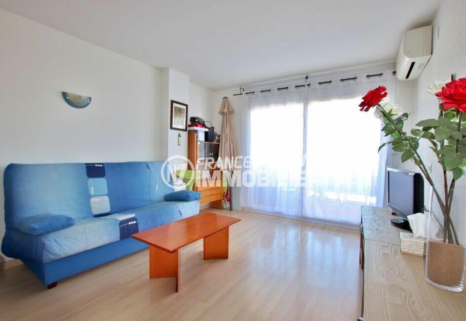 immobilier santa margarita: appartement 2 pièces 47 m², séjour lumineux