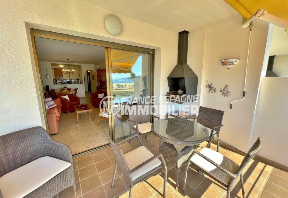 acheter appartement empuriabrava, 4 pièces 128 m² terrasse vue mer exposition sud