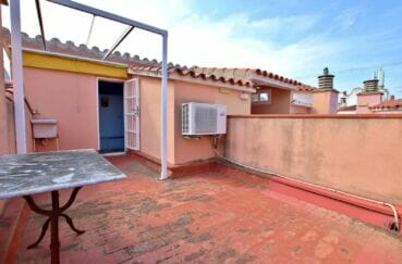appartement empuria brava, 2 pièces 45 m², terrasse solarium au dernier étage