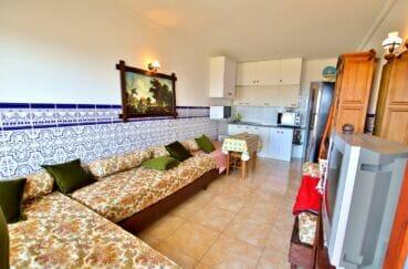 acheter appartement costa brava, 2 pièces 39 m², coin cuisine dans le séjour