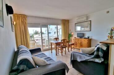 appartement à vendre à rosas espagne, 2 pièces 48 m², séjour lumineux, exposition sud-ouest