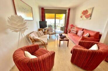 achat appartement empuriabrava, 4 pièces 128 m² grand séjour vue mer