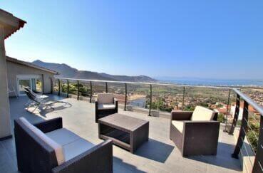 maison a vendre espagne, 250 m² 5 chambres, plusieures terrasses avec vue mer