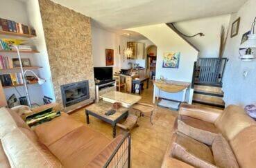 roses espagne: villa 3 pièces 59 m², grand séjour avec espace bureau