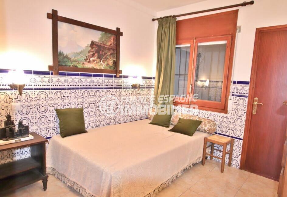 appartement à vendre à rosas espagne, 2 pièces 39 m², chambre à coucher, lit double